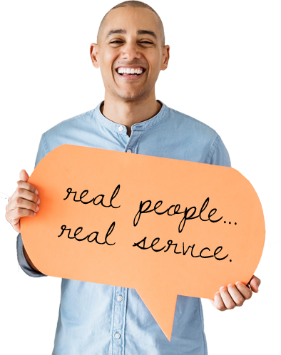 real people and real service